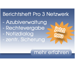 Berichtsheft Netzwerk Logo